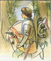 Image: 18 Young Knight, the Armor of God