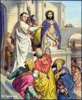 Image: 46 Pilate presents Jesus, saying Behold your king