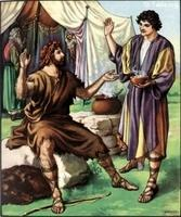 Image: 06 Esau sells his inheritance for a bowl of red bean soup