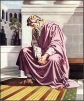 Image: 20 David weeping over the death of Absalom