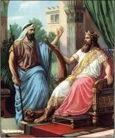 Image: 22 David tells Nathan his desire to build a temple for God