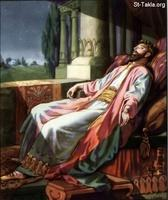 Image: 23 Solomon's dream in which he is given wisdom