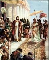 Image: 28 The Queen of Sheba visits Solomon