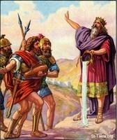 Image: 31 David refuses the water his mighty men brought him 2
