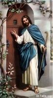 Image: 51 Jesus stands at the door knocking