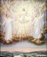 Image: 55 The Son of God on his throne with his angels