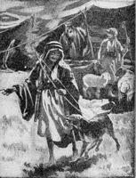 Image: esau was fond of hunting