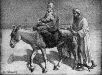 Image: the flight into egypt