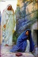 Image: Mary Magdalene meeting the risen Jesus