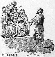 Image: 12 The former blind man testifies before the Pharisees