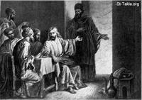 Image: 15 Jesus at dinner in the house of a Pharisee