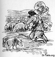 Image: 18 The prodigal son though swine food looked tempting