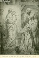 Image: Life of Christ by Canon Farrar 1894 005 The Visit of the Wise Men of the East