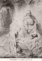 Image: Life of Christ by Canon Farrar 1894 008 Entombment of Christ