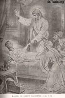 Image: Life of Christ by Canon Farrar 1894 013 pg84 Raising of Jairus Daughter