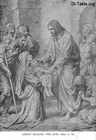 Image: Life of Christ by Canon Farrar 1894 018 pg102 Christ Healing the Sick