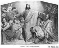 Image: Life of Christ by Canon Farrar 1894 026 pg133 Christ The Comforter