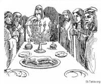 Image: Bible 142Ch30 21 24 Hezekiah's Great Passover