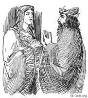 Image: Bible 17Est05 03 11 Esther Before the King 6