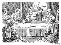 Image: Bible 40Mat26 26 29 The Lords Supper 5