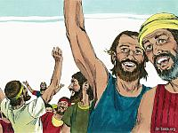 Image: sweet bible jehoshaphat victory 16