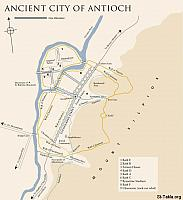Image: Ancient Antioch Map
