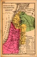 Image: new testament map of palestine 4 of 5