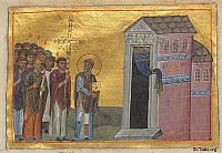 Image: menologion of basil ii 142