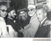 Image: Pope Kyrillos VI El Baba Cyril Ordination 1959 013