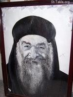 Image: Pope Cyril VI El Baba Krolos Paintings 023