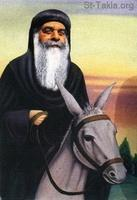 Image: Pope Cyril VI El Baba Krolos Paintings 033
