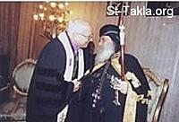 Image: Coptic Pope Shenouda 3 People Ecclesiastical 008 صورة