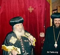 Image: Coptic Pope Shenouda 3 People Ecclesiastical 012 صورة