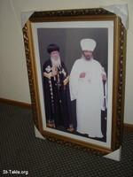 Gallery Images: 11 April 1 Waiting for Pope Shenouda <br> صور في انتظار وصول طائرة البابا شنوده للحبشة