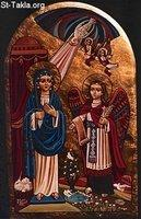 Image: Saint Mary Annunciation of Angel 04 صورة