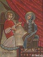 Image: Saint Mary Annunciation of Angel 06 صورة