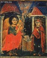 Image: Saint Mary Annunciation of Angel 08 صورة