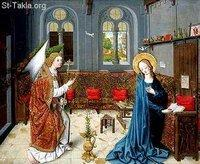 Image: Saint Mary Annunciation of Angel 09 صورة