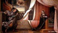 Image: Saint Mary Annunciation of Angel 10 صورة