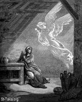 Image: Saint Mary Annunciation of Angel 27 صورة