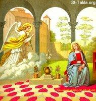 Image: Saint Mary Annunciation of Angel 29 صورة