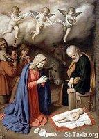 Image: Saint Mary Nativity 3 Shepherds 04 صورة