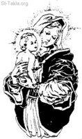 Image: Saint Mary Theotokos Mother of God 011 صورة