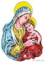 Image: Saint Mary Theotokos Mother of God 013 صورة
