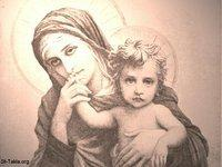 Image: Saint Mary Theotokos Mother of God 037 صورة