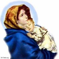 Image: Saint Mary Theotokos Mother of God 050 صورة
