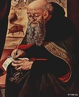Image: St Anthony the Great Antonios 001 Piero di Cosimo