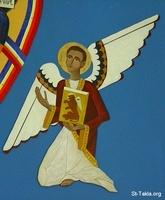 Image: 026 St Mark Iconography at St Columba Orthodox Church صورة أيقونة الكاروزمرقس