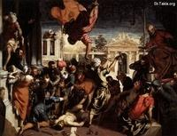Image: 056 Miracle Saint Mark Freeing the Slave After Jacopo Tintoretto 1548 Gallerie dell Accademia Venice صورة معجزة تحرير العبد لمارمرقس، تينتوريتو