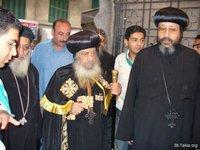 Image: Pope Shenouda Inauguration of Baptistery 05 August 2007 006 صورة